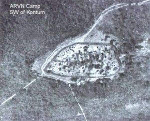 ARVN Camp on road SW of Kontum